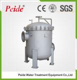 Alloggiamento liquido industriale del filtro a sacco dell'acciaio inossidabile 304