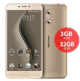 "Ulefone Gemini 5.5 ""FHD 3GB RAM 32GB ROM Finger Print Metal Unibody Téléphone intelligent Gold Color"