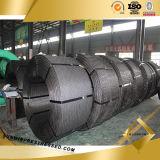 провод углерода Prestressed бетона 1X7 12.7mm стальной