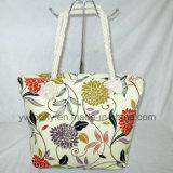 Mesdames fashion cadeau promotionnel en toile de l'épaule Sac shopping sac de plage