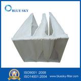 Synthetische Faser-Taschen-Beutelfilter-Staub-Sammler der Leistungsfähigkeit F5