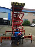 Plataforma elevadora autopropulsada hidráulica de tijera trabajo aérea (SJZ0.5-6)