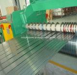 Вырезывание плиты листовой меди разрезая лезвие