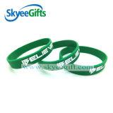 Braccialetto popolare personalizzato della gomma di silicone del regalo