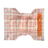 Avec l'ADL PE feuille arrière Orange Film bébés jetables de couches