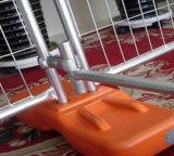 Cercado temporal portable movible galvanizado sumergido caliente de fábrica