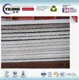 Feuille en aluminium de revêtement de toiture en métal d'isolation de mousse de XPE