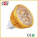 GU10 Vente chaude 2017 MR16 Gu5.3 spotlight ampoule LED 3W 5W 7W Ampoule de LED d'éclairage LED