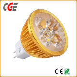 Iluminación LED GU10/MR16 Gu5.3 foco LED de luz de lámpara 3W/5W/7W lámparas LED