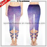 pantaloni variopinti su ordine di yoga delle donne di alta qualità di modo
