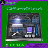 DMX nueva etapa de diseño DJ Discoteca Controlador de la luz de 1024p