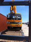De hydraulische Eigenschap Openlucht roteert 360 van de Mobiele Graden Kraan van de Vrachtwagen met Dieselmotor