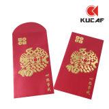 Willkommenes kundenspezifisches Vierecks-chinesischer neues Jahr-Rot-Umschlag