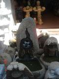 Fontaine de marbre grise blanche normale de granit