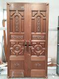 Woodwin 최신 판매인 Handmade 순수한 구리 문 안전 문