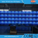 Panneau vidéo vidéo publicitaire fixe à LED couleur couleur P6mm à haute luminosité