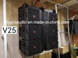 El modelo caliente V25 de la venta se dobla línea altavoz del arsenal, altavoz de gran alcance de 15 pulgadas