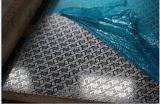 201 feuille gravée en relief par couleur d'argent d'acier inoxydable Kem010