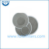 Filtro dal pacchetto dello schermo dell'acciaio inossidabile per fibra chimica