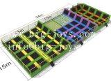 Neuestes Kind-Spielzeug-Innentrampoline-Park mit Basketballspiel (014)