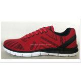 As sapatas Running Flyknit calç a alta qualidade que compete sapatas respiráveis das sapatas