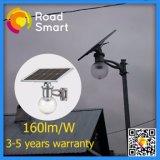 Réverbère solaire actionné solaire de l'éclairage LED 12V de Wiress IP65