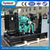 80kw Cooloed Água/Diesel/Powered/Electric/Industrial/Abrir Gerador Cummins com alternador com certificação CSA