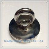 Специальный подгонянный магнит неодимия N48 с плакировкой никеля