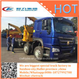 8X4 HOWO Sinotruk Selfloader 20FT 콘테이너 트레일러 Sidelifter 트럭