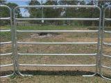 El corral portable galvanizado del panel del caballo artesona los paneles de la cerca del caballo (XMM-HP4)