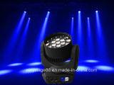 LEDのディスコの照明19X12W鋭いBeam&Zoom LED移動ヘッド