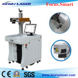 10W 20W machine de marquage au laser à fibre pour revêtement de surface de métal/métal/fabrication de plumes avec la CE