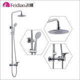 La qualité Chorme de modèle moderne a plaqué le robinet simple en laiton de douche de traitement