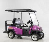 Heiße des Verkaufs-48V Sitzelektrisches Golf-Auto Alaun-des Chassis-4
