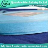 2016 neue Produkte SGS-Bescheinigung-Blau Luft-Durch Adl-nichtgewebtes Gewebe für Baby-Windel