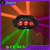 LEIDENE van het UFO 9X10W Straal die het Hoofd MiniLicht van de Spin bewegen