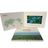 Tela LCD Brochura de vídeo para Kits de mídia