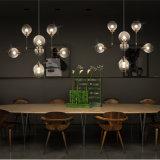 Candelabro moderno do projeto da lâmpada do pendente de Decoratvie da esfera de vidro
