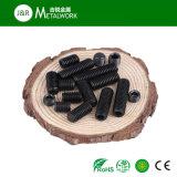 Черный setscrew 12.9 харча стали углерода ранга окиси (DIN913 DIN915)