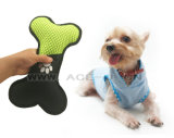 Bone Shaped Dog Toy Squeaking Dog Toy Durable Chew Jouets pour animaux de compagnie avec baseball