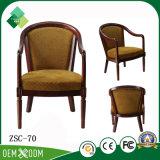 居間のためのThrone Chair Wood Armchair型様式王