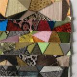 Het kleurrijke Trangle Afgedrukte Leer van Pu voor Handtassen (A765)