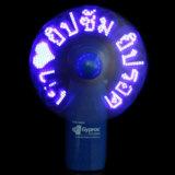 유효한 로고를 가진 크리스마스 선물 LED 번쩍이기 메시지 팬 (3509)