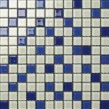Hecho en el mosaico del vidrio cristalino de mosaico de China (VMG4032, 300X300m m)