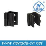 Liga do zinco da boa qualidade Yh9312 dobradiças pretas industriais do estar aberto de 180 graus