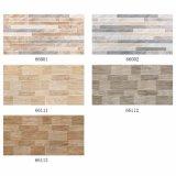 Los materiales de construcción de 300x600mm mosaico de la pared exterior acristalada con diseño de inyección de tinta