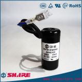 CD60 Motorstartelektrolytischer Aluminiumkondensator des kondensator-110V CD60