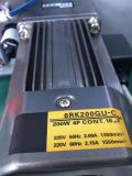 Ensayos de mezclador utilizado en la máquina de inyección de la máquina de moldeo por soplado