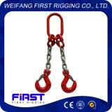 2本の足の溶接された合金鋼鉄G80は持ち上がる吊り鎖を連鎖する