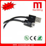 Cabo colorido do USB ao micro cabo do USB